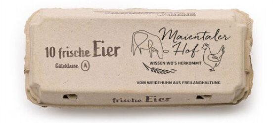 Maientalerhof 10 frische Eier